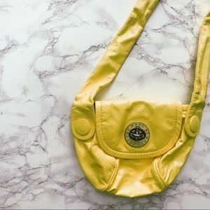 MARC JACOBS - Lime Yellow Patent Leather Crossbody